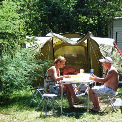 Location emplacements tentes - Aloha Camping Club *** - Amélie les Bains