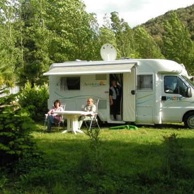 Location emplacements camping-car- Aloha Camping Club *** - Amélie les Bains