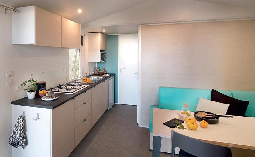 Mobil-home Canigou 2 chambres - Aloha Camping Club***