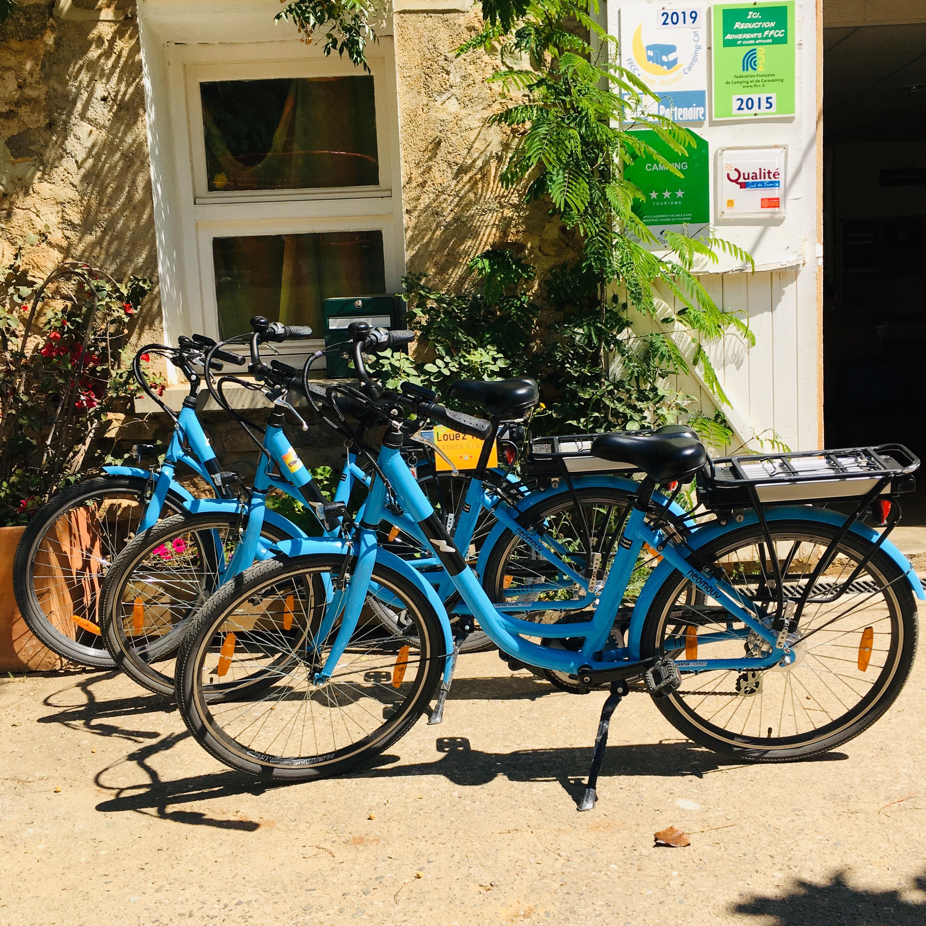 Location vélo électrique - Aloha Camping Club