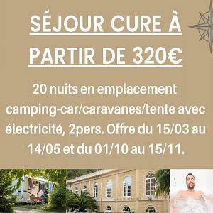 Promo camping pour votre cure - Amélie-les-Bains