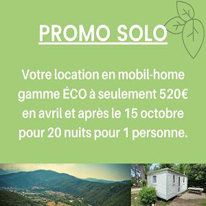 Promo camping séjour seul - Amélie-les-Bains
